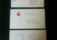Marketing Maverick: App Founder Buys 3 Steve Jobs Business Cards for $10,050