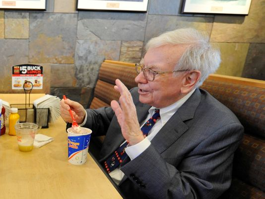 warren buffet lunch