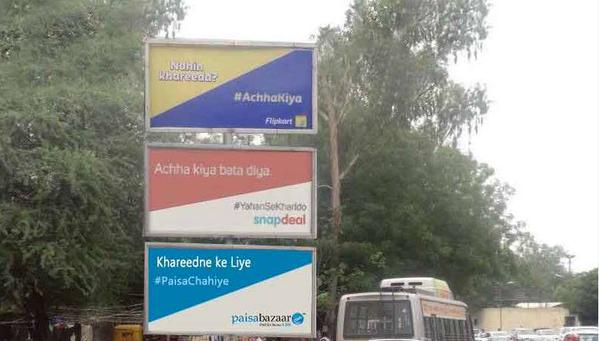 Online Startups In India Are Doing Outdoor Advertising Big Time
