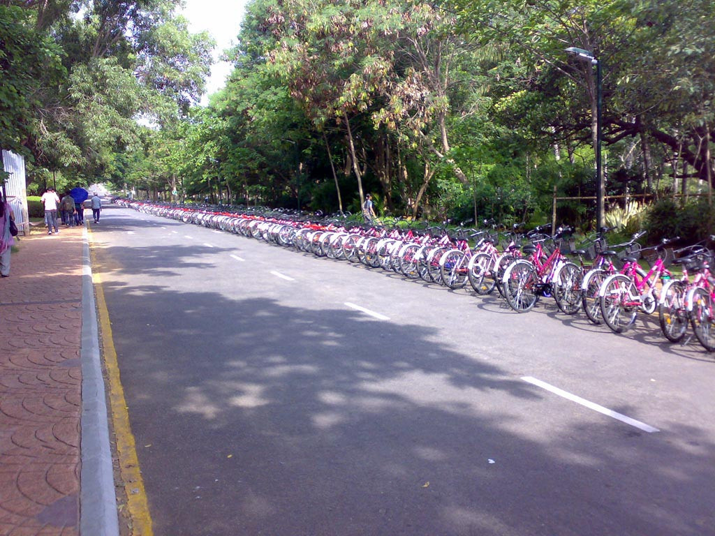 infosys mysore cycles
