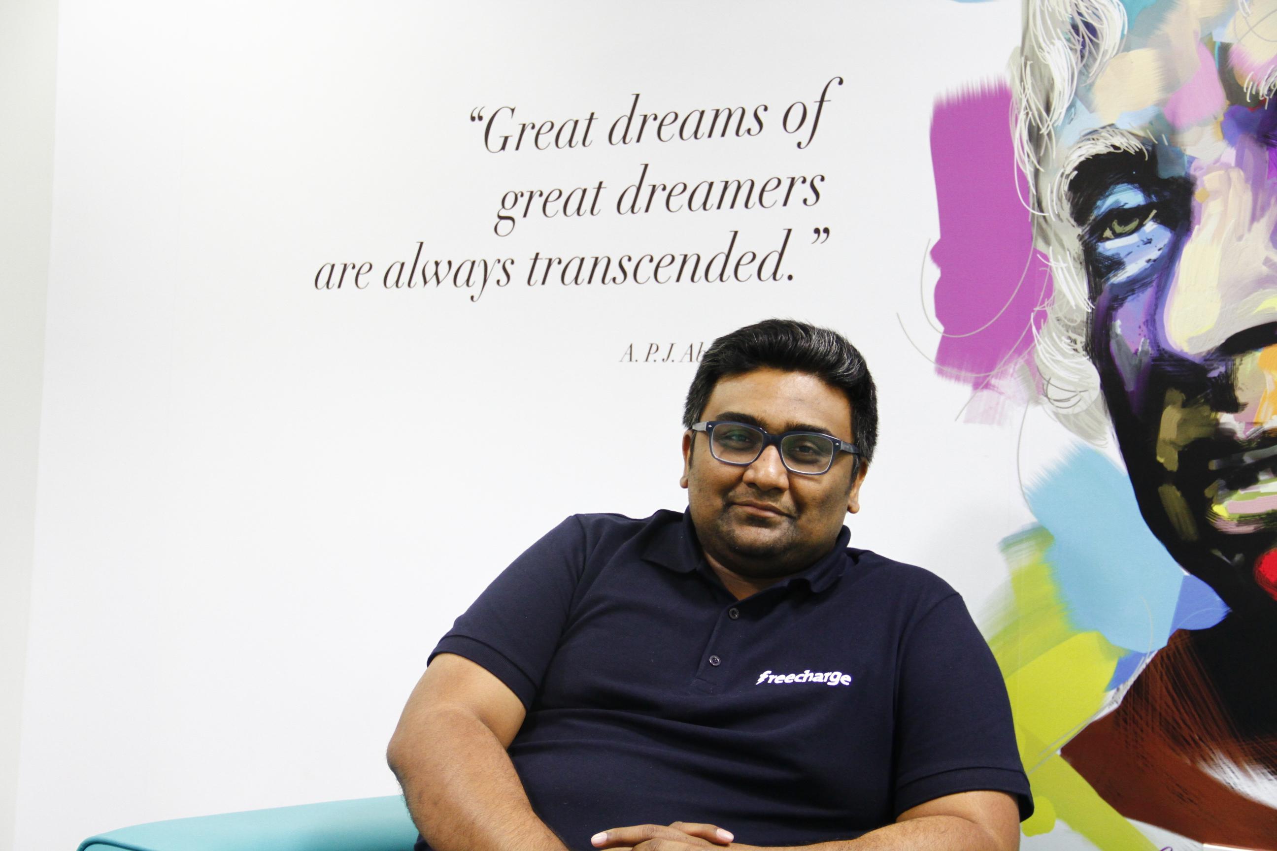 Kunal Shah Freecharge CEO