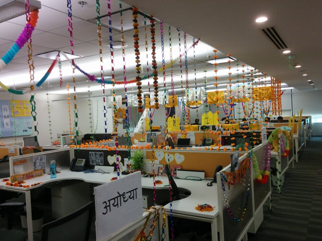 This Is How 11 Companies Celebrated Diwali In The Office ...