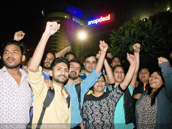 snapdeal protests