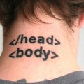 web developer jokes tattoo