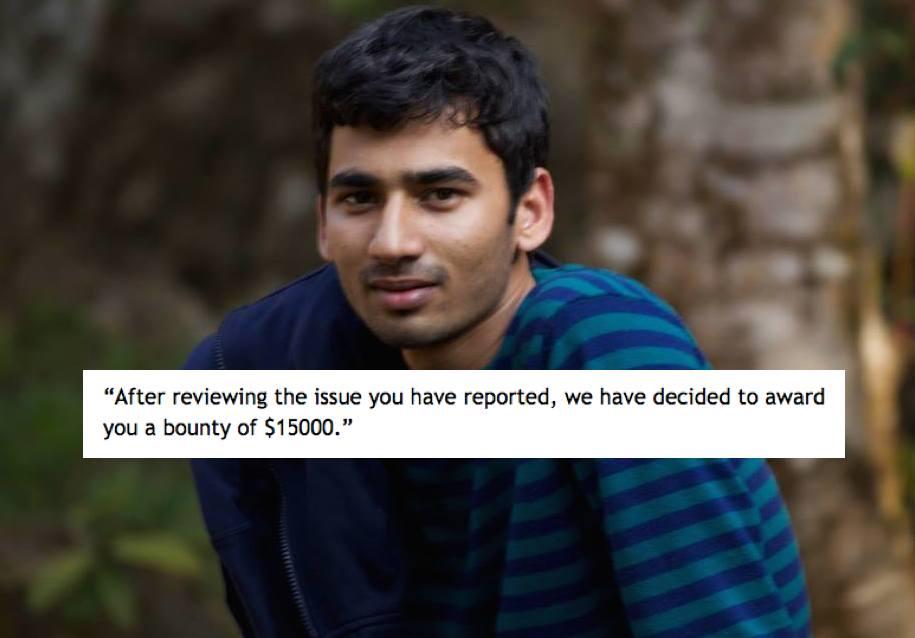 Anand Prakash Ethical Hacker