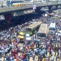 Bangalore protests over provident fund