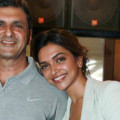 Deepika and Prakash Padukone