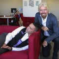 richard branson sleeping employee