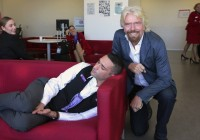 When Richard Branson Caught A Virgin Employee Napping