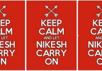 Keep Calm And Let Nikesh Carry On