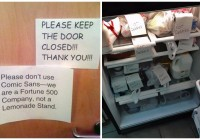 20 Hilariously Passive Aggressive Office Notes