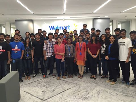 BITSian Day at Walmart (Photo by Balaji Palangthodkar)