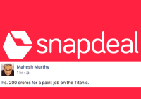 Mahesh Murthy Trolls Snapdeal's Branding Overhaul, But Does It Actually Makes Sense?