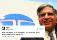 Here's How Twitter Is Reacting To Ratan Tata Making A Comeback As Tata Sons Chairman