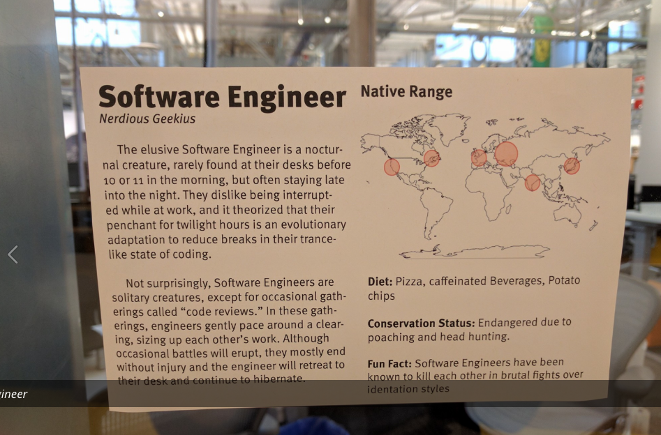 facebook office software engineer poster