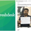Girish Mathrubootham email response to customer