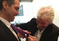 Why Richard Branson Literally Cut Off A Tie One Of His Audience Members Wore