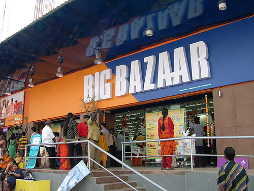 top retail chains in India