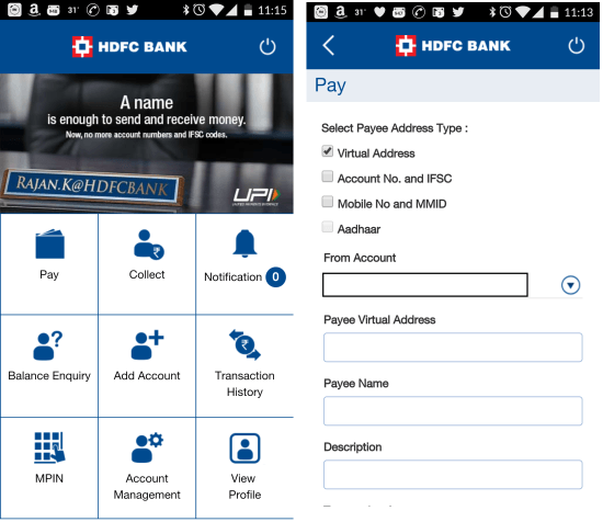 HDFC-bank-UPI