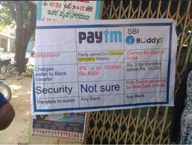 paytm vs sbi