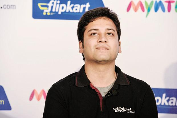 flipkar ceo binny bansal buys from amazon