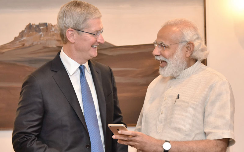 apple manufacturing centers in india