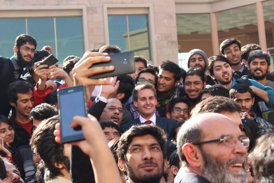 evan spiegel pakistan