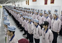 Here's What It's Like To Work At A Giant Apple iPhone Factory In China