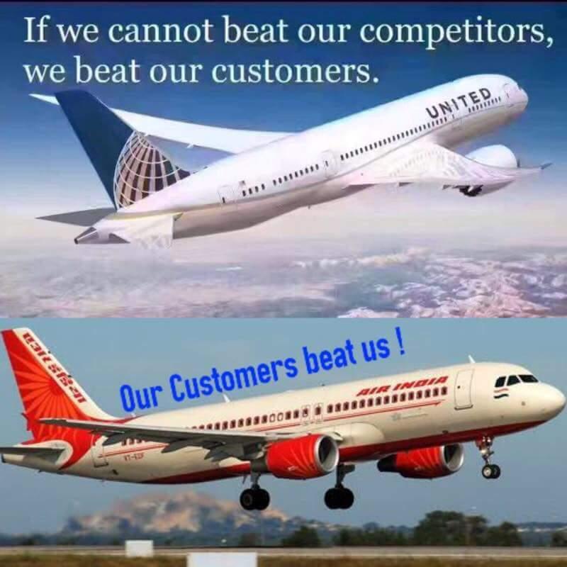 air india united airlines meme
