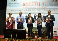 """Gig Economy and Contingent Workforce: HR and Workplace of the Future""  at ""Kshitij 2017"""