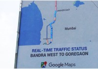 Google's Mumbai Hoarding Marries Offline And Online, Gives Real-Time Updates On Traffic
