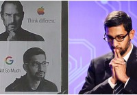 Anti-Sundar Pichai Graffitti Appears Near Google Offices, New York Times Says He Should Resign