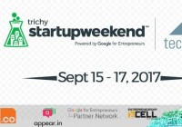 NIT Trichy's Startup Weekend Begins On 15th September