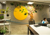 This Company Has A Park-Themed, Non Air-Conditioned Office In Bangalore