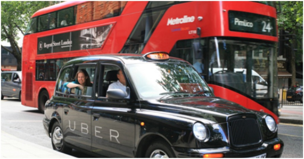 uber banned in london