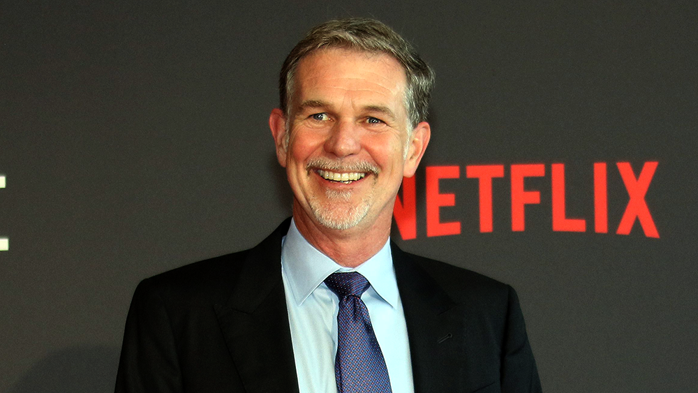 how much of netflix does reed hastings own