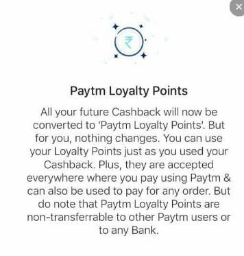 paytm loyalty points