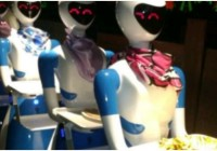 This Restaurant In Chennai Has Robot Waiters That Serve Food