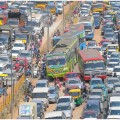 bangalore worst traffic in india