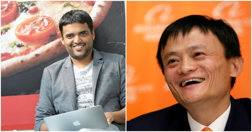 alibaba invests in zomato