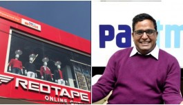 Paytm Mall Has Partnered With Red Tape To Open A Store Where Customers Shop Via Its App