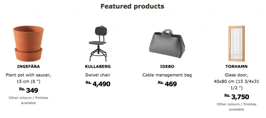 ikea india product catalog