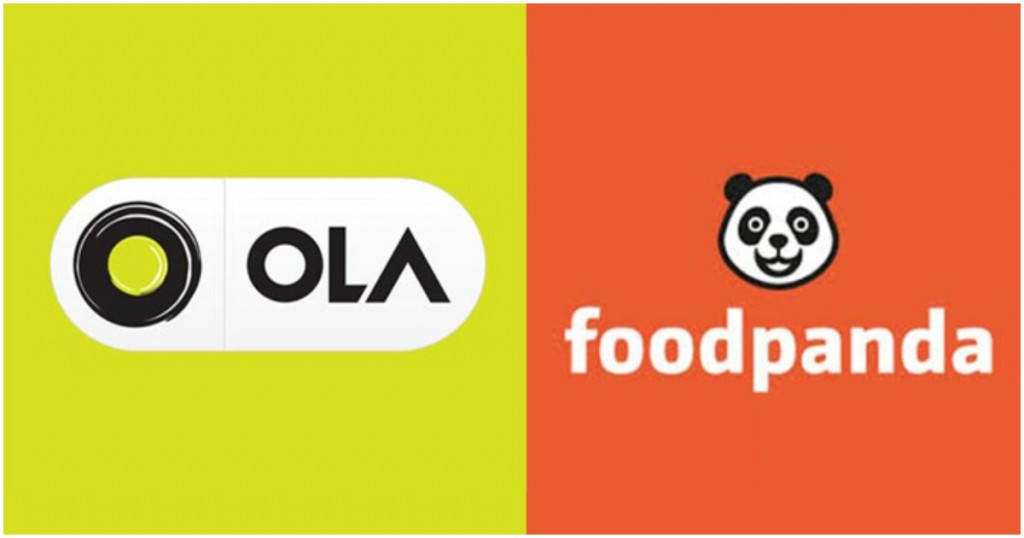 ola integrates foodpanda in its app