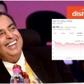 dishtv shares fall jiogigafiber
