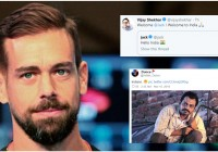 Twitter CEO Jack Dorsey Is In India, And Reactions Have Been Both Welcoming And Hostile