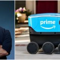 amazon scout self driving robot