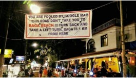 Goa Banner Pointing Out Mistake In Google Maps Goes Viral, Google Responds