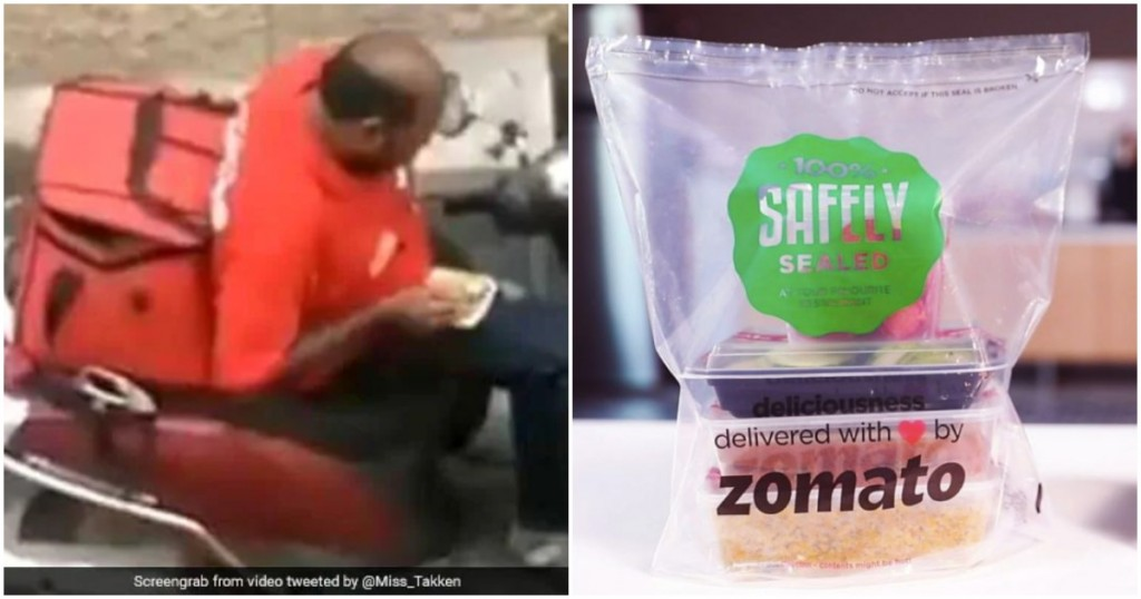 zomato safety sealed