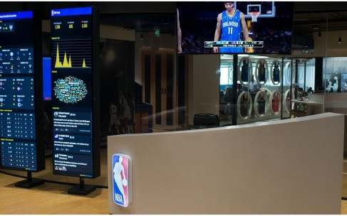 Inside NBA's Interactive, Basketball-Themed Office In Mumbai