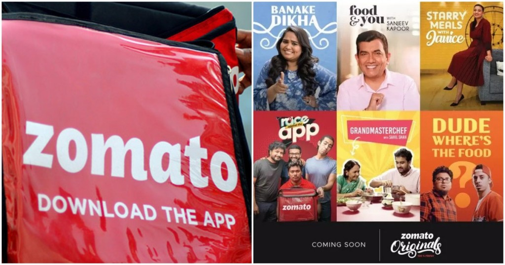 zomato video streaming